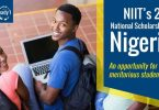 SCHOLARSHIP - 20th NIIT Nigeria National Scholarships For Meritorious Students 2019