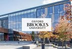 Scholarships for Postgraduate degree at Oxford Brookes University in UK 2020