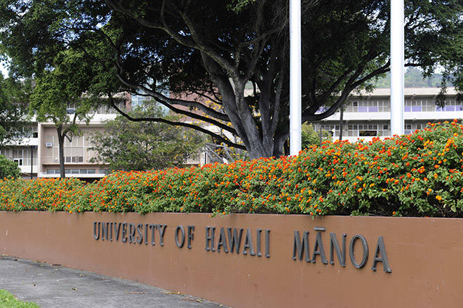 Photo of Scholarship Awards at University of Hawaii in USA 2020
