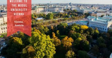 MBA Scholarships at MODUL University Vienna in Austria 2020