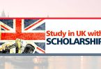 Top International Scholarships to Study in UK 2020/2021