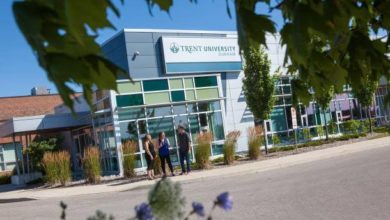 Photo of Remembrance Scholarship at Trent University in Canada 2021