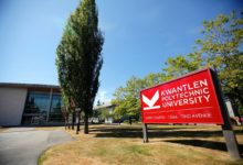 Photo of Kwantlen Polytechnic University Entrance Awards in Canada 2021